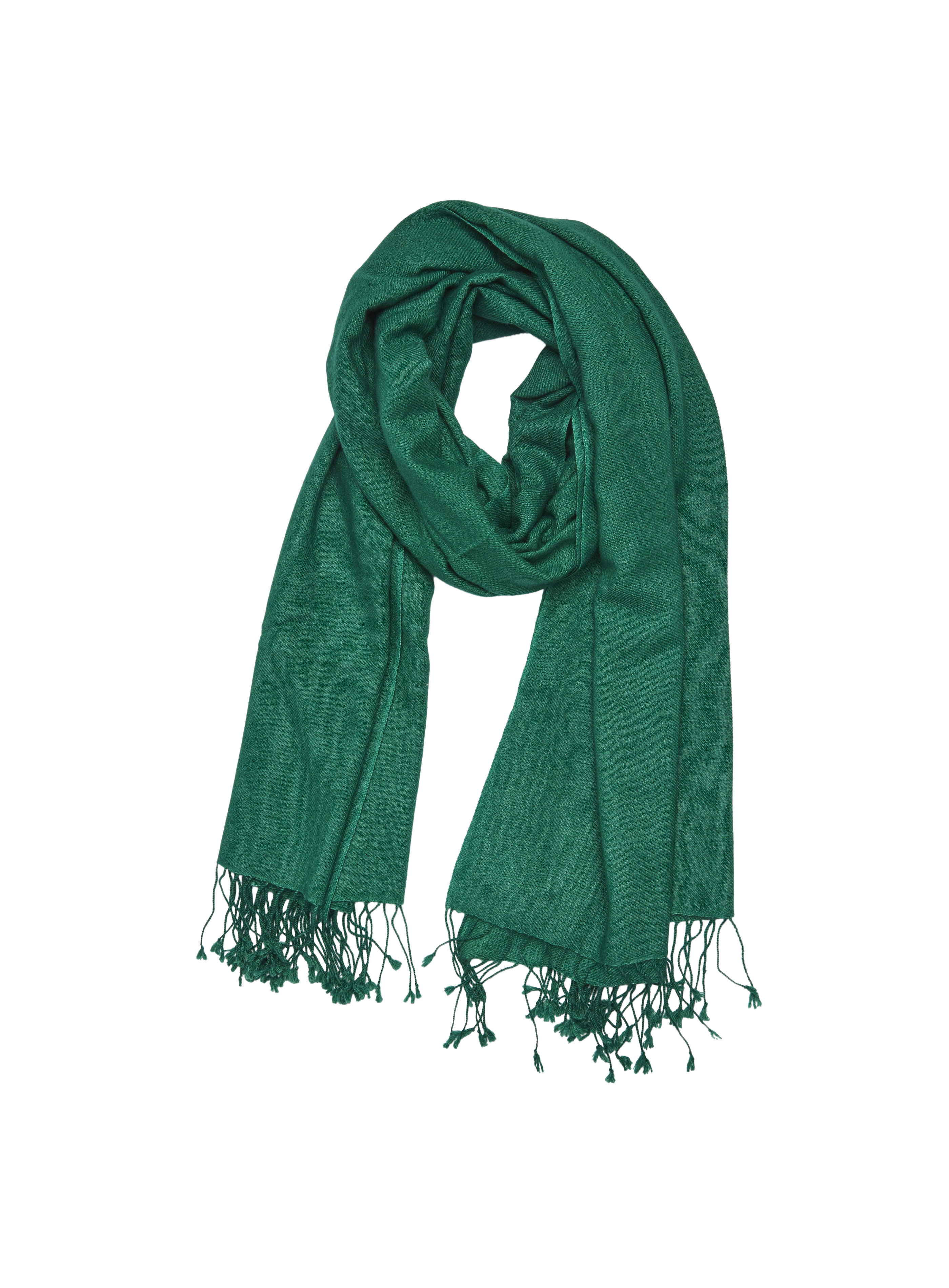 Pure_Cashmere_Shawl_Bottle_Green