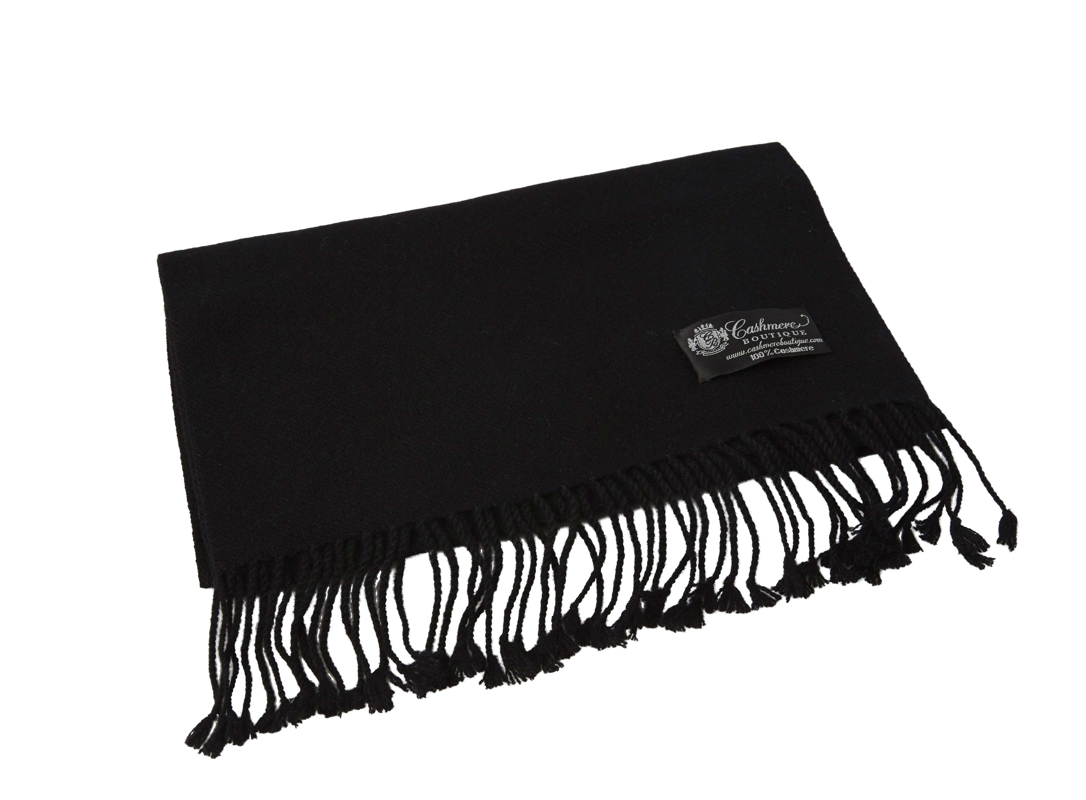 Pure_Cashmere_Scarf_with_Tassels_Black