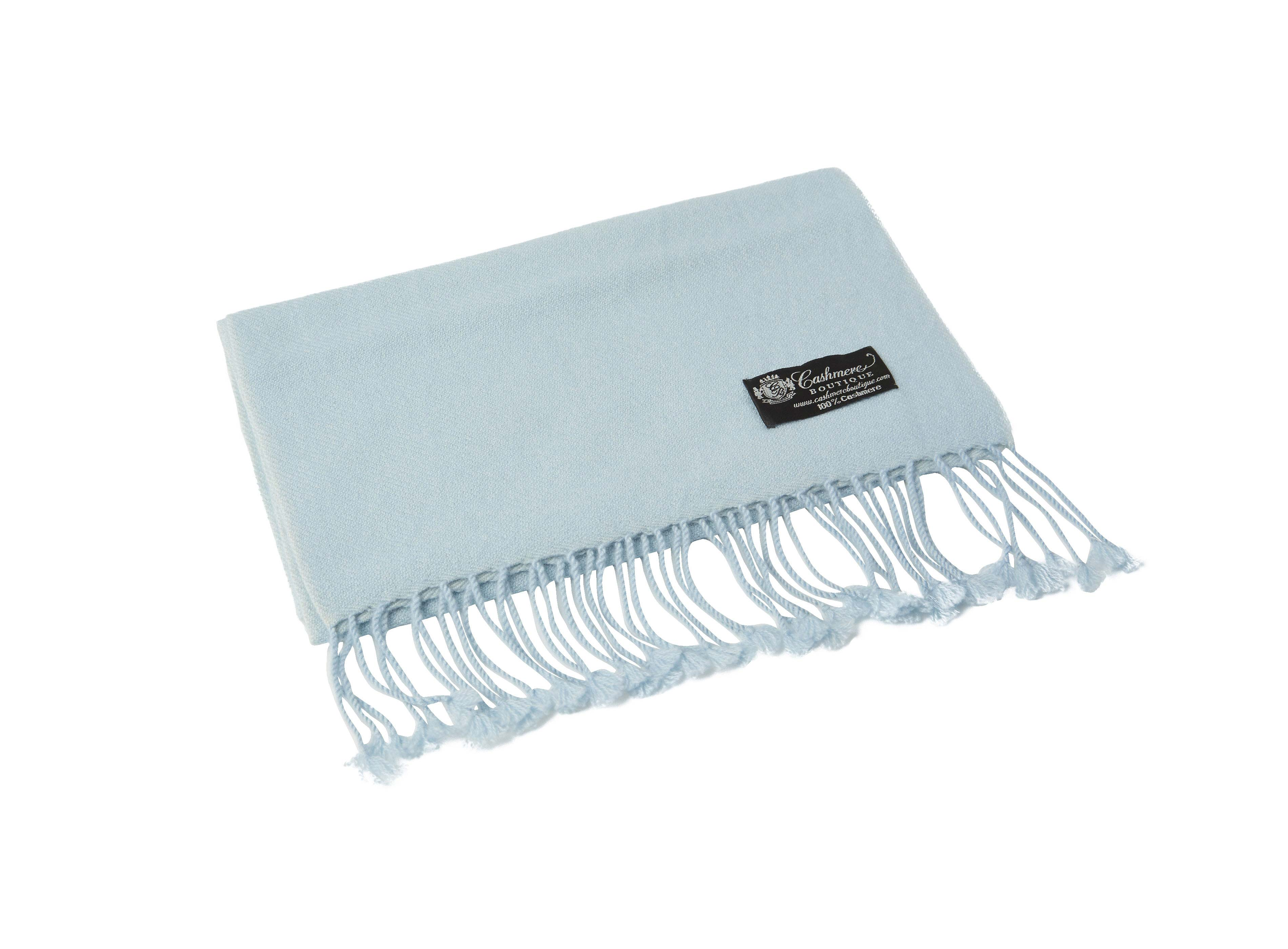 Pure_Cashmere_Scarf_with_Tassels_Blue_Topaz