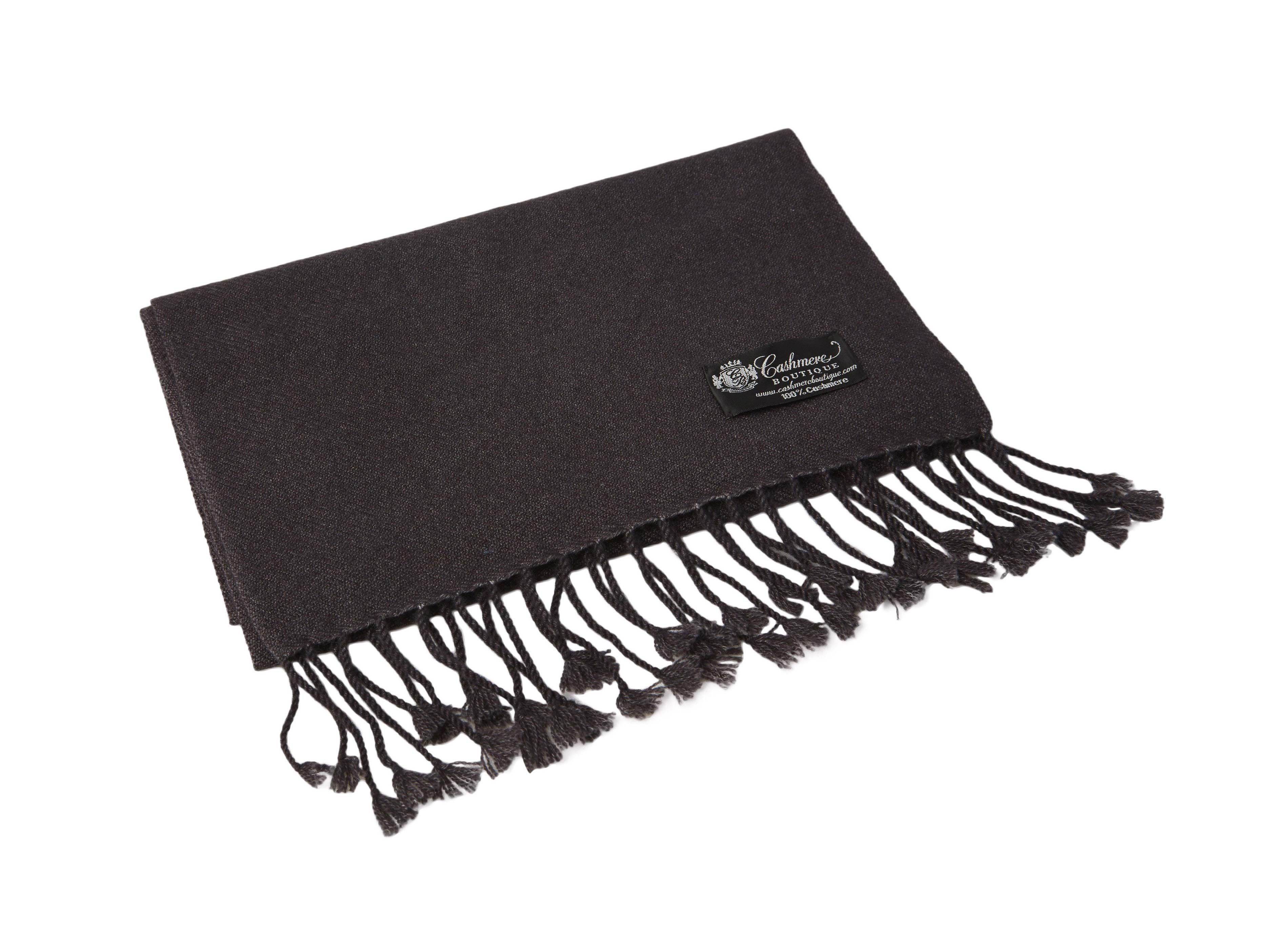 Pure_Cashmere_Scarf_with_Tassels_Charcoal