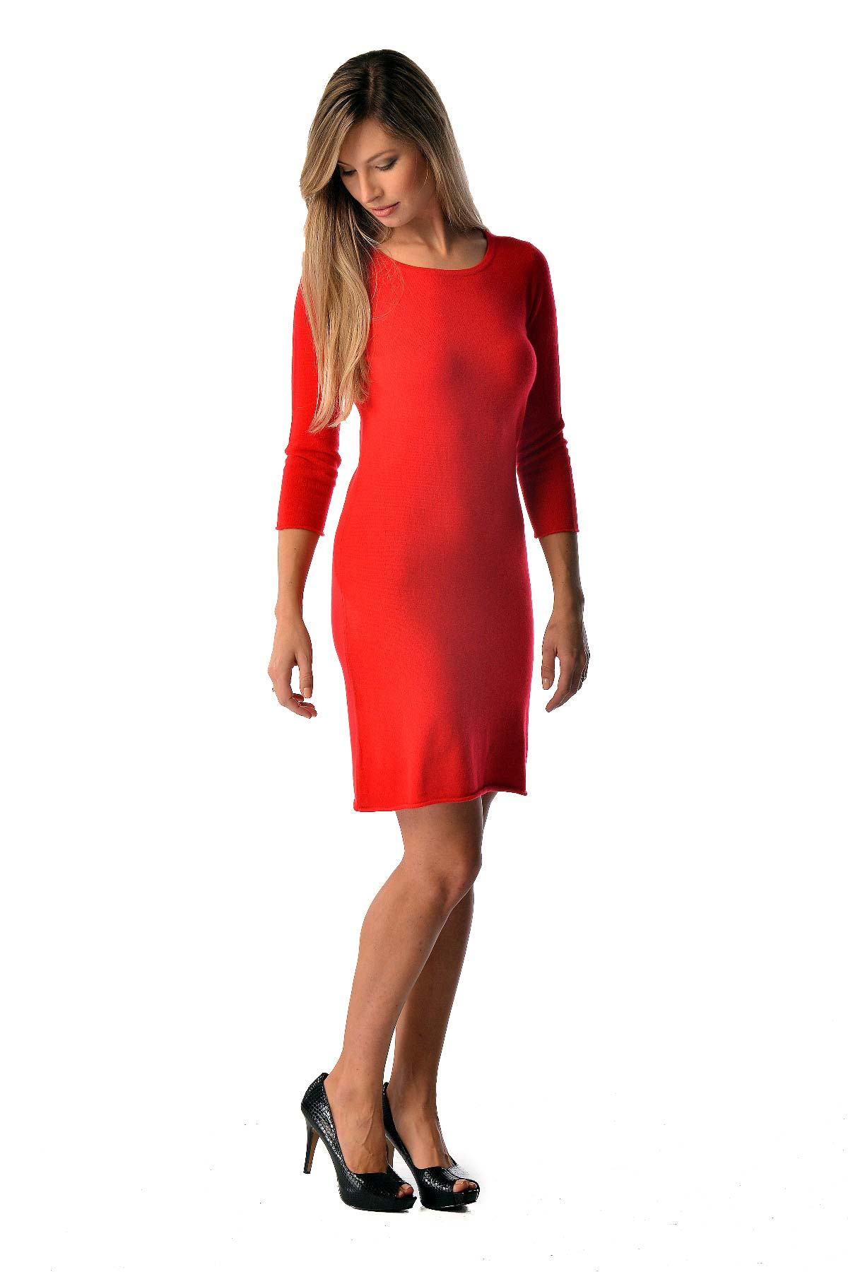 Women's Pure Cashmere Dress