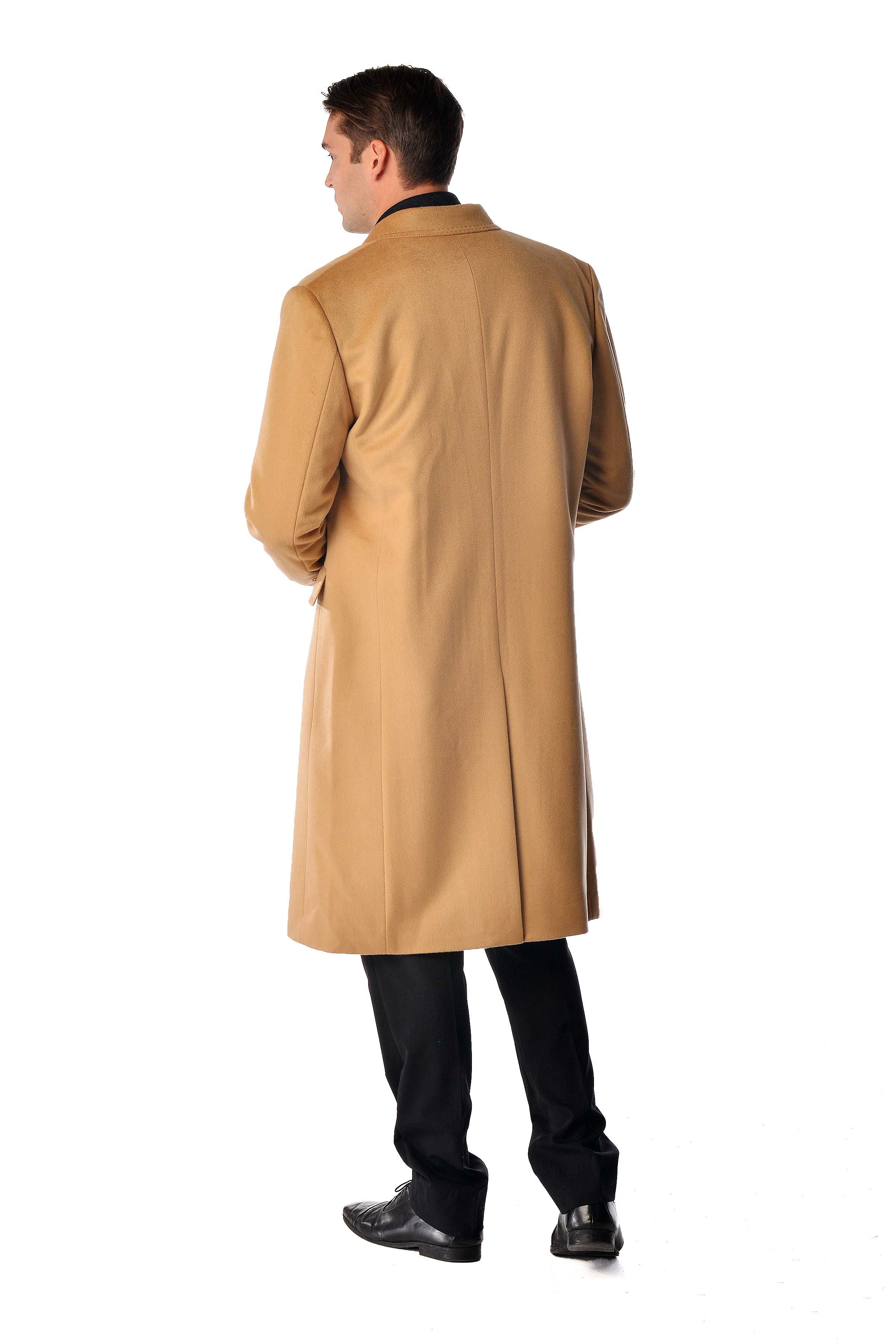 Cashmere overcoat for men
