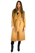 Full Length Belted Coat in Pure Cashmere