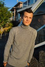 Men's Turtleneck in Pure Cashmere